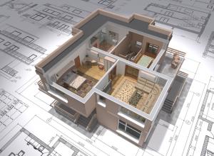 Как оформить разрез здания
